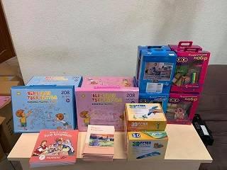 УПЦ передала подарки в 10 школ-интернатов разных регионов Украины