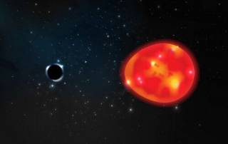 Астрономы узнали кое-что интересное о ближайшей к Земле черной дыре