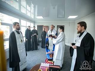 Митрополит Антоний освятил в Киеве новый центр помощи нуждающимся