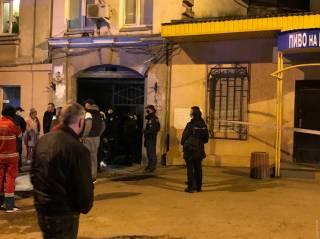 Опубликовано видео с места взрыва газа в Одессе