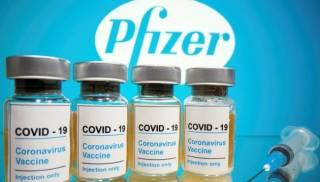 В Украине ждут почти миллион доз вакцины Pfizer в середине мая