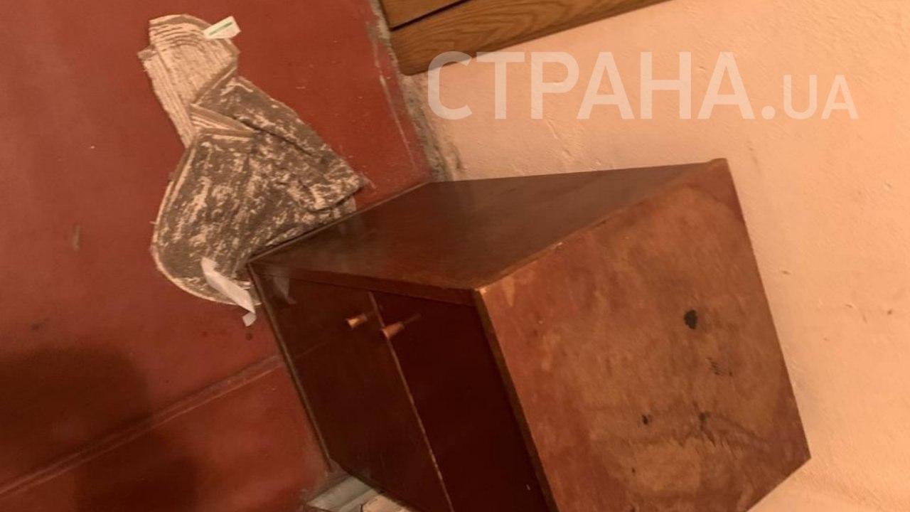 Место жестоко убийства семьи на Харьковском массиве в Киеве