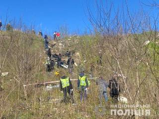 В Киеве нашли сумку с кусками расчлененного тела