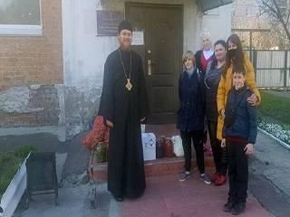 На Черниговщине УПЦ передала гуманитарную помощь детям -сиротам