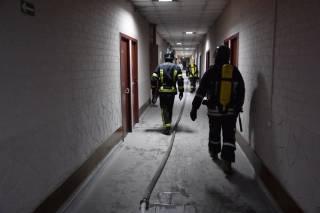 Ночью в Одессе горел санаторий