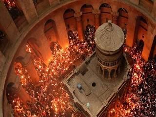 В УПЦ рассказали, как в этом году доставят Благодатный огонь из Иерусалима