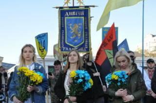 По факту проведения в Киеве марша в честь дивизии СС «Галичина» просят открыть уголовное дело