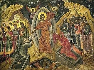 Верующие празднуют Воскресение Христово