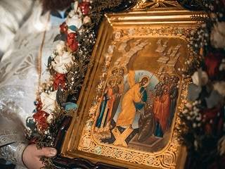 Патриарх Кирилл и иерархи Поместных Церквей поздравили верующих УПЦ с праздником Пасхи