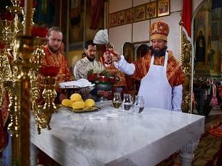 На Житомирщине освятили новый престол в кафедральном соборе УПЦ