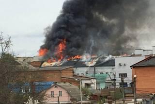 В самый разгар рабочего дня в Виннице загорелся офисный центр. Не обошлось без жертв