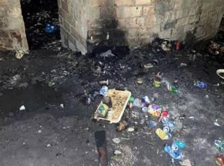Два киевлянина сожгли заживо мужчину, который оскорбил сына одного из них