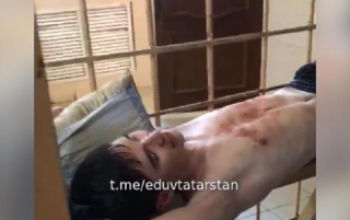 Появилось видео допроса казанского стрелка (18+)