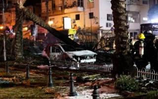 Сектор Газа нанес по Тель-Авиву массированный ракетный удар