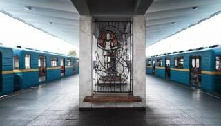 Опубликовано видео с места родов на одной из станций метро Киева
