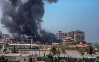 ХАМАС нанес очередной ракетный удар по Израилю