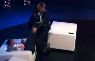 Опубликовано видео эпичной драки с участием экс-нардепа Барны