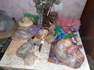 В Одессе на Молдаванке дети  оказались заперты в квартире с прогнившей едой