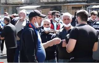 На легендарном предприятии в Грузии началась забастовка