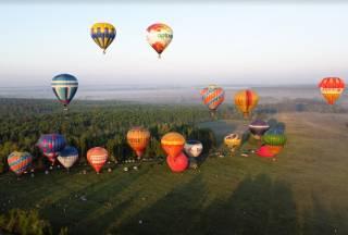 Под Киевом состоялся феерический фестиваль воздушных шаров