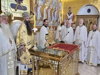 В Сербии митрополит и паломники УПЦ молились о мире в Украине