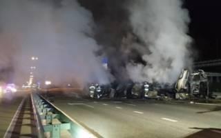 Огненное ДТП в Киеве – погибли люди