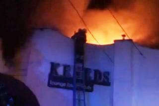 Крупный пожар в Каменце-Подольском: горел ночной клуб