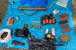 В центре Киева обнаружен тайник с оружием