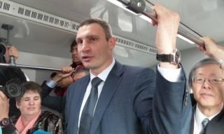 Как Кличко превращает метро и трамвай в предметы роскоши