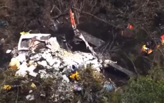 Во Флориде разбился пожарный вертолет – никто не выжил