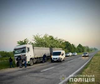 Одесские грабители придумали хитроумный план, чтобы останавливать дальнобоев