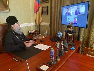Митрополит Лука обсудил с представителями ОБСЕ религиозную ситуацию в Запорожской епархии УПЦ