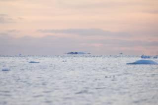 Украинские ученые опубликовали фотографии «летающих айсбергов» в небе над Антарктикой