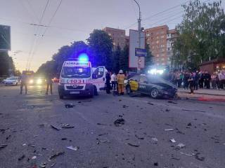 Опубликованы момент и последствия жуткого ДТП в Ровно
