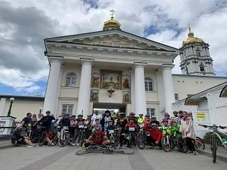 Велопаломничество Киев – Почаев: Верующие УПЦ преодолели 450 км с молитвой за Украину