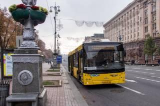 К концу недели перекроют центр Киева. Движение транспорта будет очень затруднено