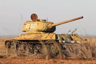 Послевоенная эпопея Т-34: Ангола