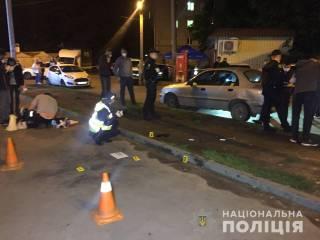 Момент взрыва гранаты в Харькове попал на видео