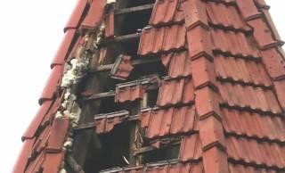 В Черновцах молния ударила в детскую больницу