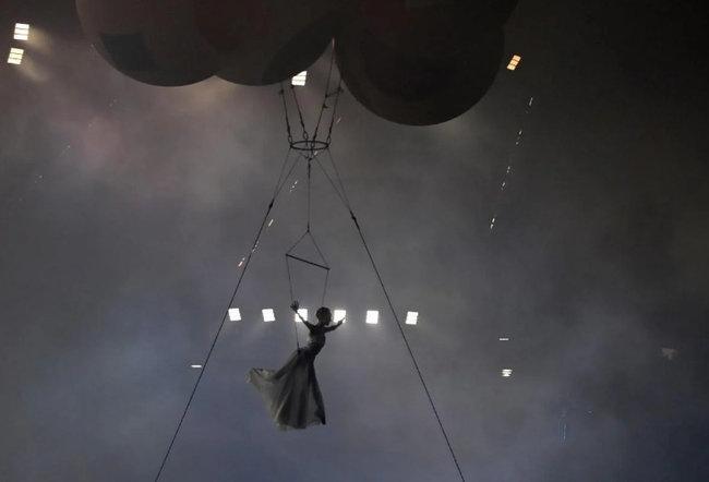 Церемония открытия Евро-2020 в Риме