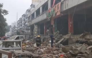 На рынке в Китае рванул газ – погибли десятки людей