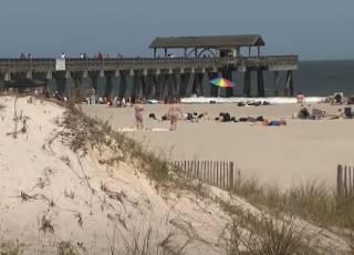 В США молния убила ребенка прямо на пляже
