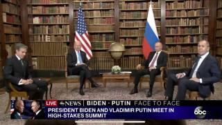 Байден и Путин пожали руки перед многочасовой встречей