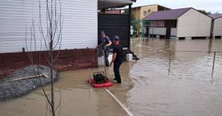 В Кирилловке затопило базы отдыха