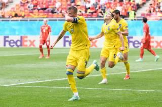 Евро-2020: Сборная Украины в тяжелом матче обыграла Северную Македонию