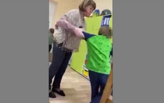 В Киеве учитель ударила ребенка с инвалидностью