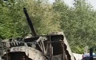 В Польше в ДТП попали… танки