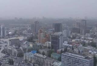 Синоптики прокомментировали пылевую бурю, которая обрушилась на Киев накануне