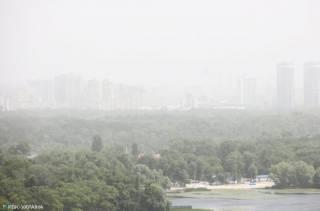 Синоптики рассказали, когда пылевая буря покинет Украину