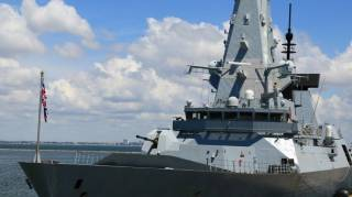 В Минобороны Британии заявили, что эсминец шел через воды Украины
